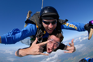 Tandem Skydiving in Napa Valley